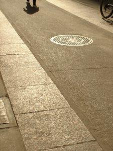 sidewalk and shadow